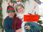 Barry Press and Annie Scurria in 2018 Holiday Sampler